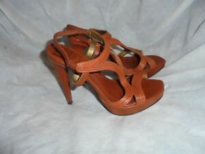 Size Eu 7 Diane 37 Furstenberg Uk Strap Sandals Brown Vgc Von 4 donna Buckle Us rqvwnUf0qx