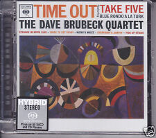 """The Dave Brubeck Quartet  -Time Out"" Limited Numbered Stereo Hybrid DSD SACD CD"