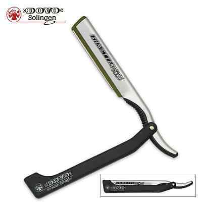 Dovo - Black Shavette / Straight Razor with replacement blades - Made in Germany