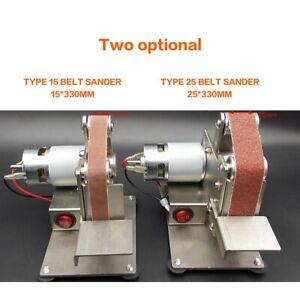 Mini-Grinder-Electric-Belt-Sander-Polishing-Machine-Cutter-Edges-Sharpener-T