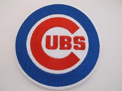 Chicago Cubs Bestickt Patch ~ 8.9cm Rundes ~ Zum ~ Mlb ~ Schiffe Gratis üBerlegene Materialien Fanartikel Weitere Ballsportarten