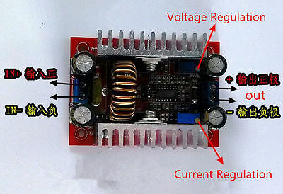 DC Step-up Boost Converter Constant Current Power Supply LED Driver 400W 15A