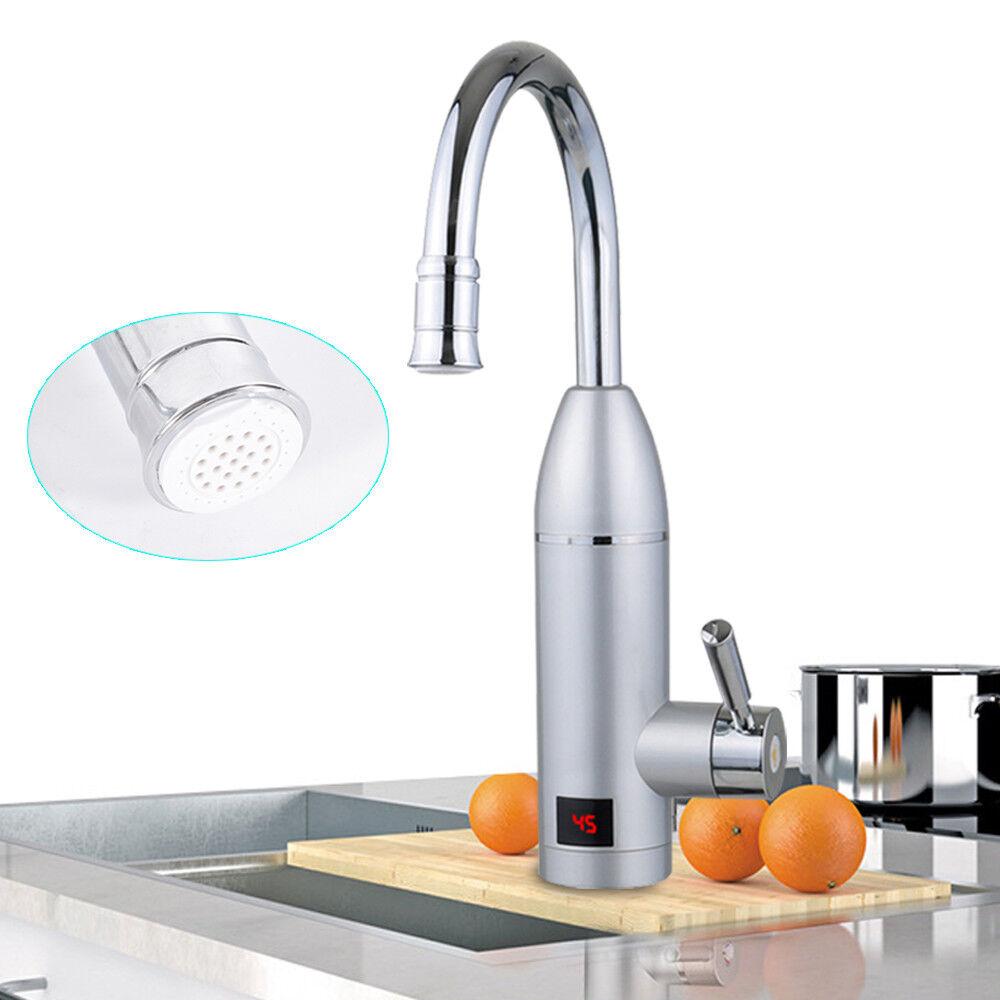 Elektrischer Wasserhahn Bad Küche Durchlauferhitzer Warmwasserbereiter 360° DHL | Glücklicher Startpunkt  | Shop Düsseldorf  | Offizielle  | Exquisite Verarbeitung