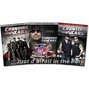 Counting cars tv series complete seasons 1 2 dvd box sets for 2 1 2 box auto