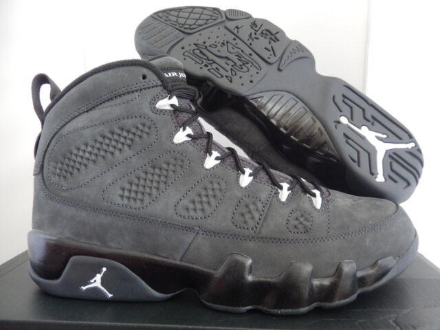 the latest d8992 2b1cd 2015 Nike Air Jordan IX 9 Retro Sz 10 Anthracite Black White Oregon  302370-013