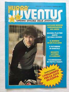 HURRA-039-JUVENTUS-N-2-FEBBRAIO-1984-MICHEL-PLATINI-PALLONE-D-039-ORO-GENTILE-CABRINI