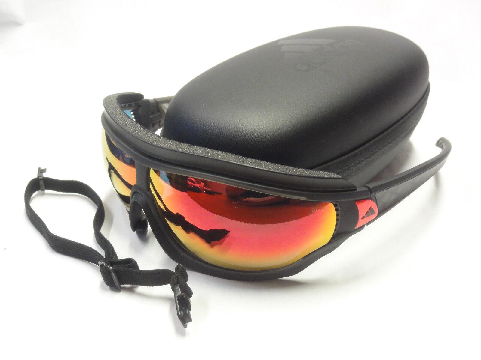 Adidas Sportbrille Tycane pro outdoor L a196 6055 matt black neu OVP