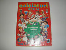 MANCOLISTE FIGURINE PANINI -CALCIATORI 1983-84- REC.- REMOVED FROM AN ALBUM