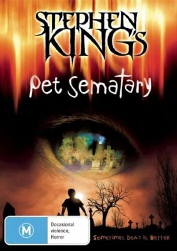 1 of 1 - Pet Sematary-DVD VERY GOOD CONDITION FREE POSTAGE AUSTRALIA WIDE REGION 4