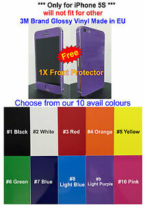 3M-Glossy-Vinyl-For-iPhone-5S-Full-Body-Vinyl-Decal-Skin-Sticker