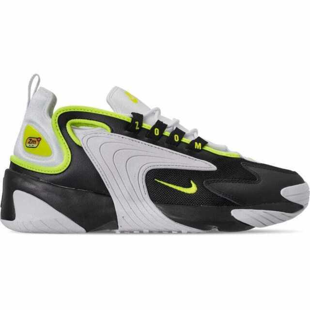 Nike Zoom 2k White Black Neon Green Mens Size 10 Ao0269 004 ...