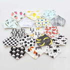 Baby Kids Cotton Bandana Bibs Feeding Saliva Towel Dribble Triangle Waterproof