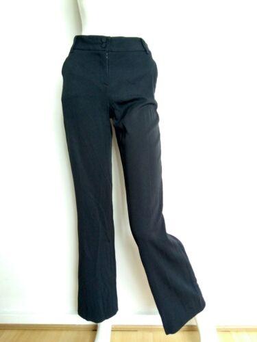 Crepe 40 Designer Jarmon Størrelse Smart Bukser Lommer Tara Med Aubergine Uk12 qCSwTH