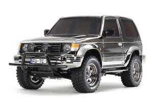 Tamiya-47375-Pajero-Black-Metallic-RC-Kit-ESC-Stick-Radio