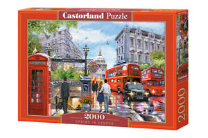 """Castorland Puzzle 2000 Pieces SPRING IN LOND 92x68cm/36""""x27"""