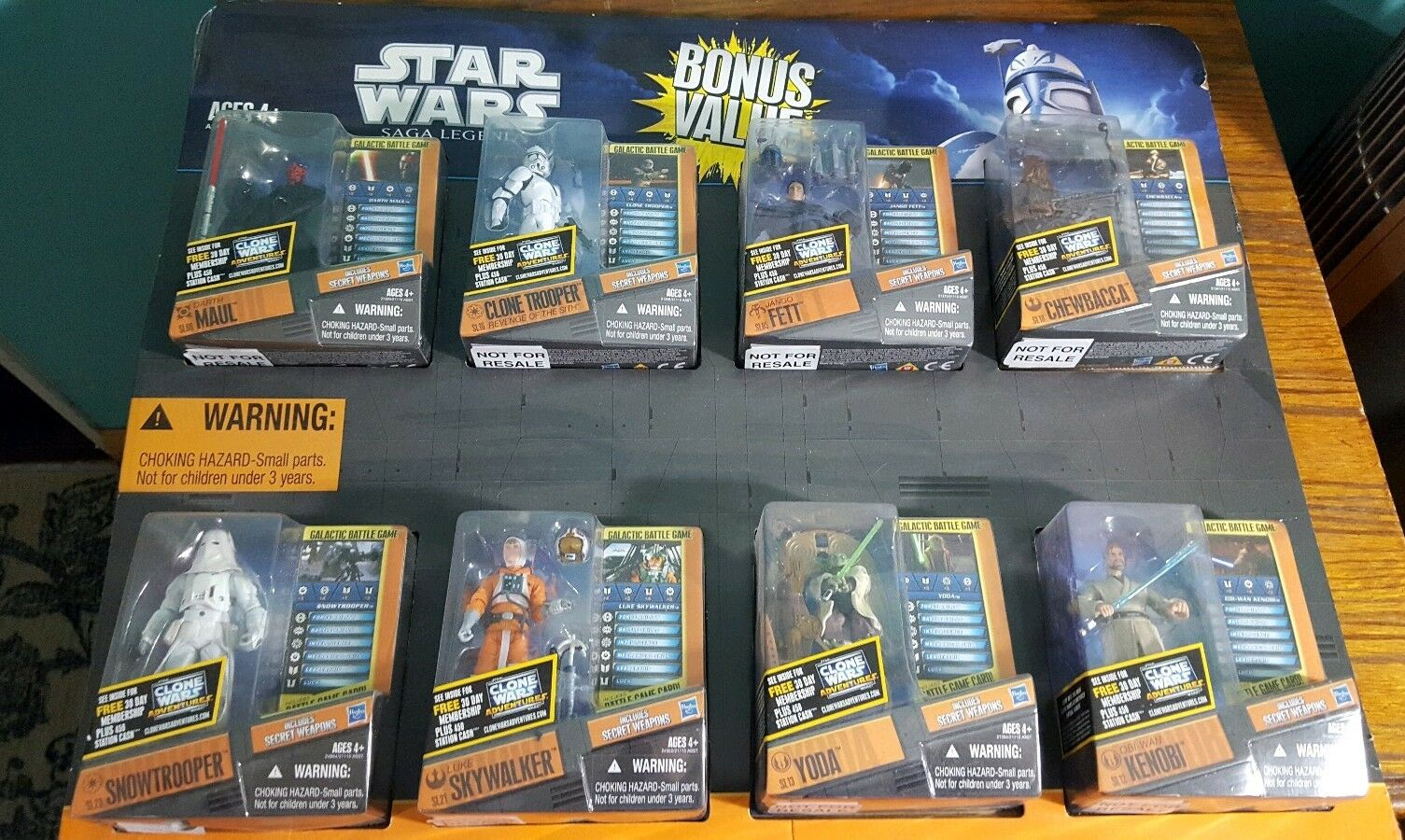 Star Wars Saga Collection Bonus Value