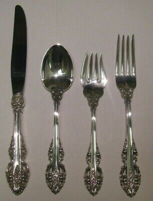 El Greco-Reed /& Barton 4 PC Sterling Dinner Place Setting