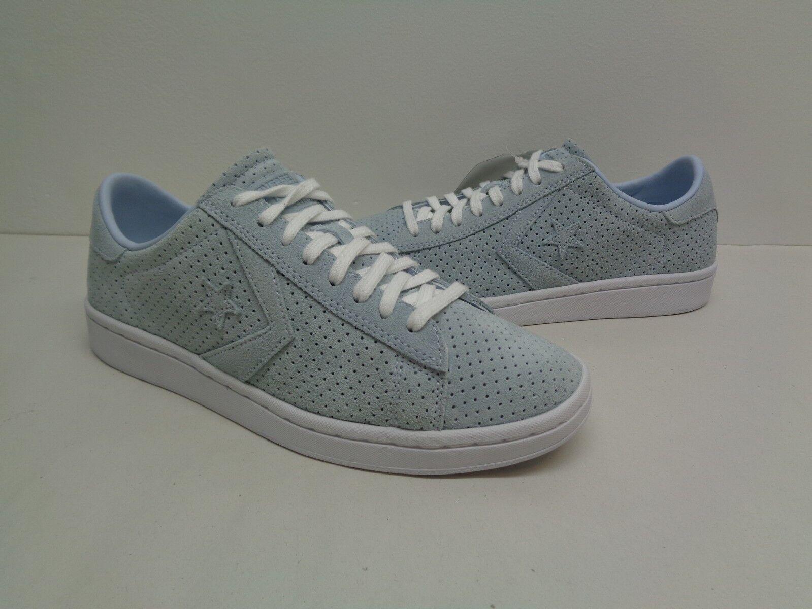 Converse All Star Größe 8.5 PL LP OX 555923C Grau Suede Sneakers NEU Damenschuhe Schuhes