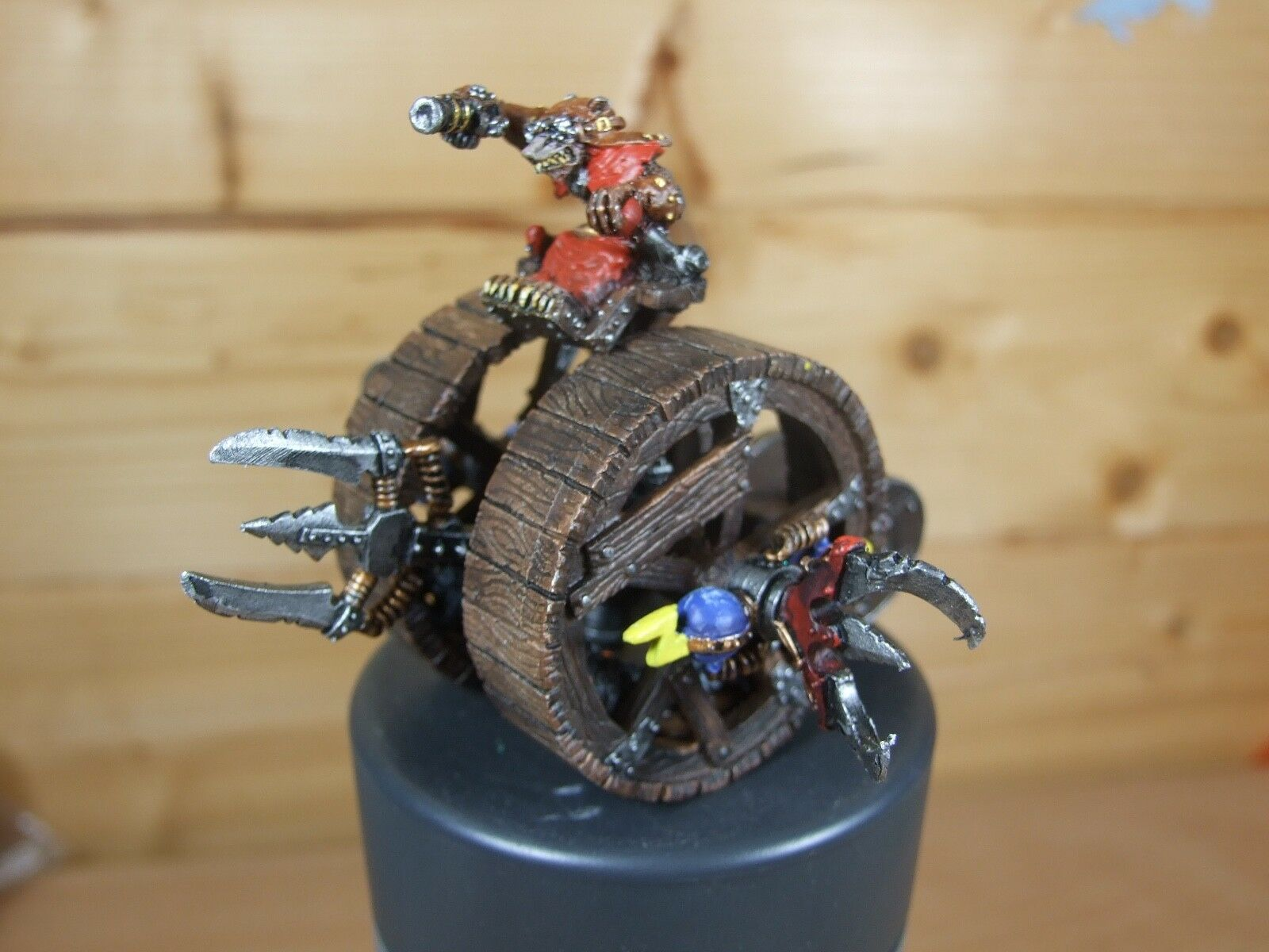 CLASSIC METAL SKAVEN DOOMWHEEL WELL PAINTED (L)