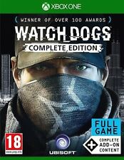 WATCH DOGS WATCHDOGS COMPLETE EDITION XBOX ONE Game (NEW) (FULL GAME + ADD ONs)