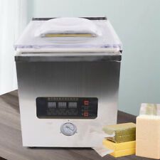 Vacuum Sealer Commercial Food Chamber Semi Vacuum Sealing Packing Machine 360w
