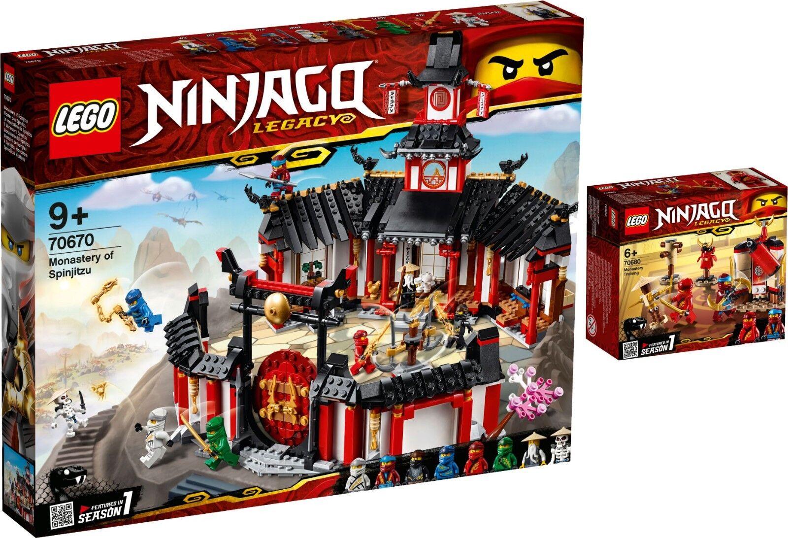 benvenuto per ordinare LEGO Ninjago 70670 monastero del Spinjitzu 70680 NINJA tempio Training Training Training n1 19  migliori prezzi e stili più freschi