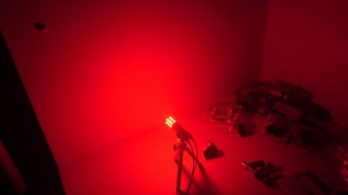 2x 3157 LED Red  27 SMD Stop Tail Brake Light Bulb Backup Reverse Turn Signal