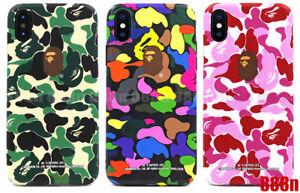 new arrival 539c1 f39bd Details about A Bathing Ape Bape ABC Camo Phone Case For Apple iPhone XS  Max XR X 8 7 Plus 6