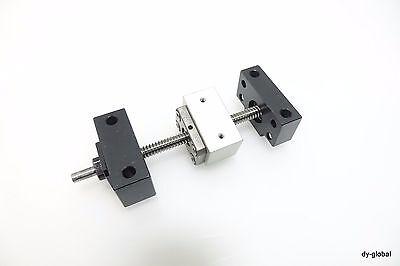 ISSOKU Japan Ball screw GTR0802C5+137L AK6+AF6 W// nut bracket BSC-I-410=B802
