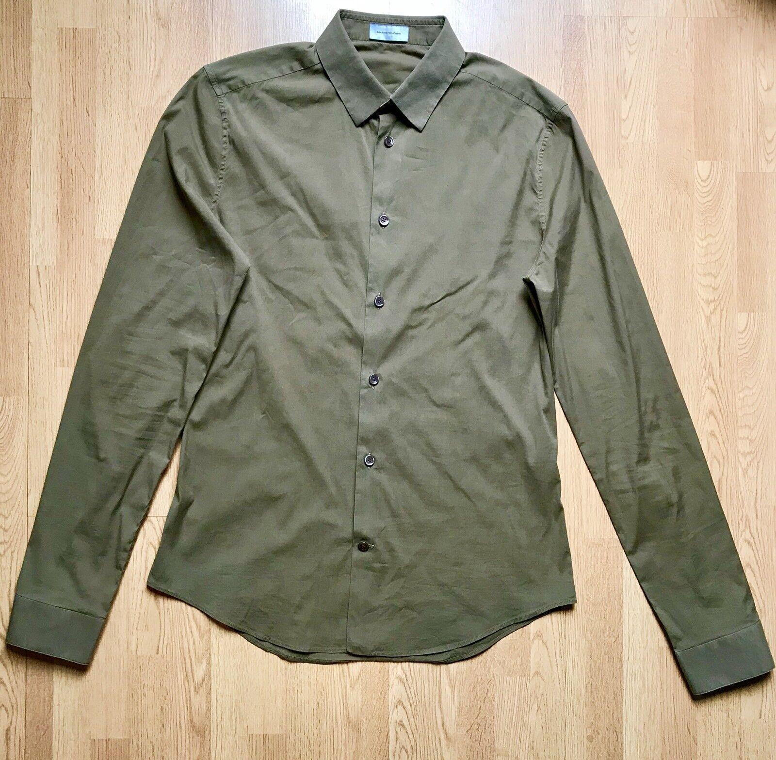 Balenciaga Light Cotton Shirt Größe 38FR 42IT 10UK