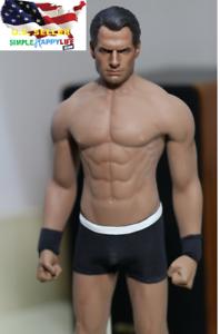 1 6 Henry Cavill Superman cabeza 2.0 Phicen M33 Sin costuras Masculino Muscular Figura Set