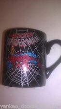 MARVEL SPIDERMAN GLITTER COFFEE MUG CUP COLLECTIBLE