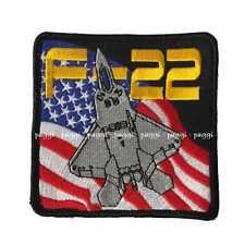 Patch B23 USAF F-22 Raptor Toppa senza velcro