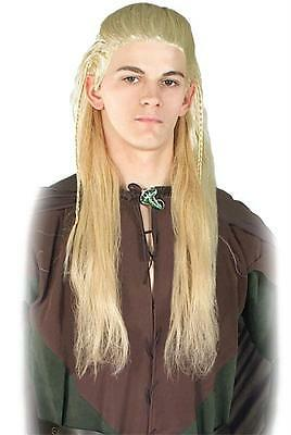 LORD OF THE RINGS LOTR LEGOLAS LONG BLONDE WIG COSTUME ACCESSORY RU50632