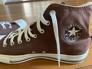 Converse-Chuck-Taylor-All-Star-High-Top-Canvas-Men-Shoes-Brown-SZ-10-5-Mens