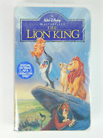Disney Masterpiece Collection Vhs Tape The Lion King Sealed Clam Shell