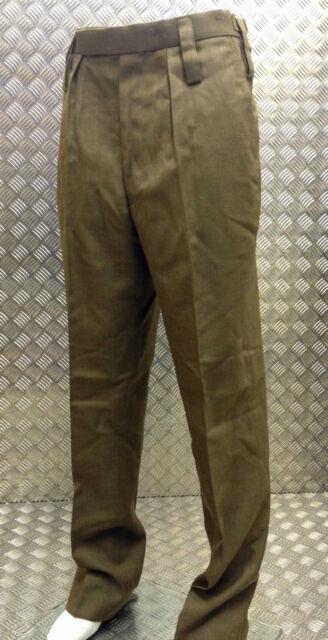 Autentico Esercito Inglese Uniforme Pantaloni Caserma Abito Tutti Ranghi/ Fad