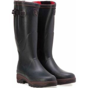 Aigle Damen Parcours 2 ISO Stiefel Unisex Wellington Boot Damen Gummistiefel