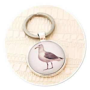 Seagull sea bird seaside gull Wildlife keyring key ring
