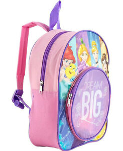 Details about DISNEY CHARACTER PRINCESS DREAM GIRLS KIDS BACKPACK RUCKSACK NURSERY SCHOOL BAG
