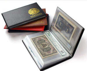 Graded Banknotes Collection Album Certificated Banknote Book Brand New