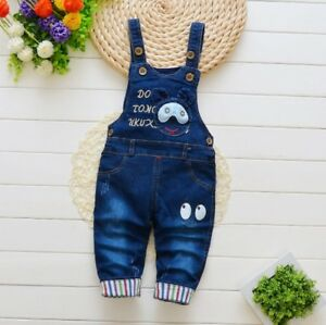 062d34f3ee6 Kids Baby Boys Denim Clothing Pants Clothes Boy Bottoms Trousers ...