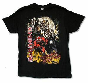 Iron-Maiden-The-Number-of-the-Beast-Mens-Black-T-Shirt-New-Official-Music-Band