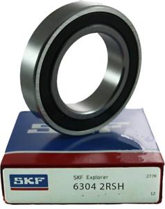 6304-2RS SKF marque Joints en Caoutchouc Palier 6304-rs roulements à billes 6304 RS 6304-2rsh