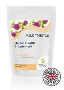 Milk-Thistle-100mg-Herbal-30-Tablets-Pills-Supplements
