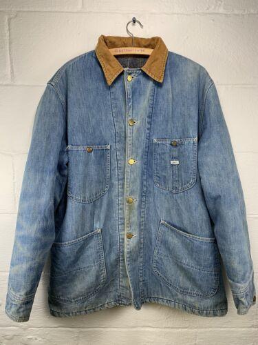 Vintage LEE Jean Chore Jacket Men's 40R VTG 70s Bl