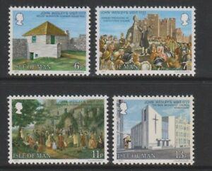 Ile-de-Man-1977-1st-Visite-De-John-Wesley-Ensemble-MNH-Sg-103-6