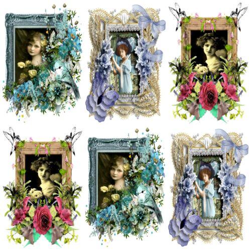 BLEUET bleu Embellissements Carte Toppers Fabrication Carte Toppers