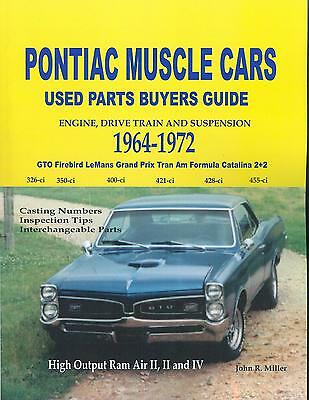 1964 65 66 67 68 69 70 71 72 GTO//FIREBIRD//TRANS AM PARTS INTERCHANGE  MANUAL
