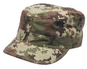 New-Mens-US-Style-BDU-Field-Combat-RIPSTOP-Baseball-Cap-VEGETATO-WOODLAND-CAMO